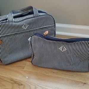 Ralph Lauren travel makeup bag